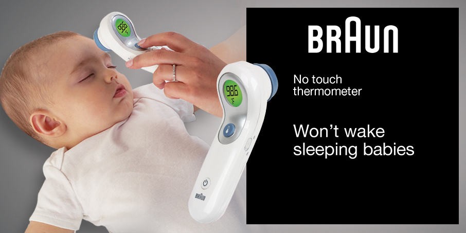 Braun No touch + thermometer banner